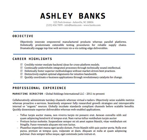Microsoft Resume Templates Free by Free Resume Templates Microsoft Health Symptoms And Cure
