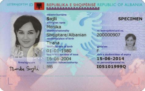 interpol id card template file leternjoftimi shqiptar biometrik jpg wikimedia