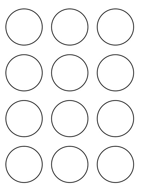 Cupcake Circle Template cupcake toppers and holders tutorial with templates using
