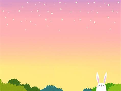 Pp Bunny rabbit background background powerpoint