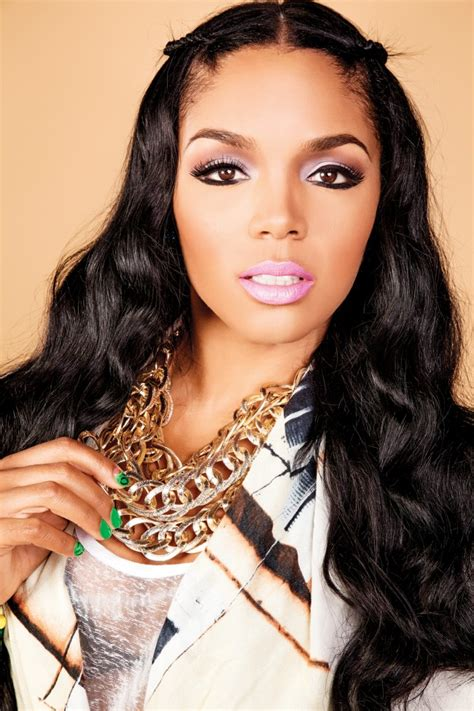 ladies hair style on love and hip hop show love hip hop atlanta s rasheeda wearing bright lipstick