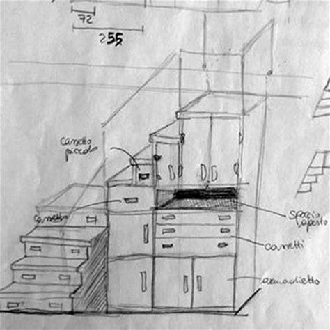 scala armadio scala interna a scomparsa ahora architettura