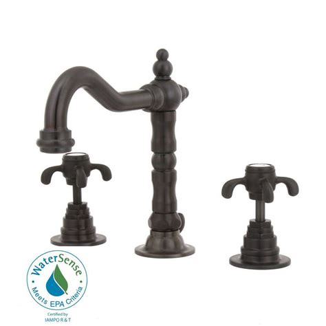 oil rubbed bronze bathroom faucet widespread latoscana ornellaia 8 in widespread 2 handle mid arc