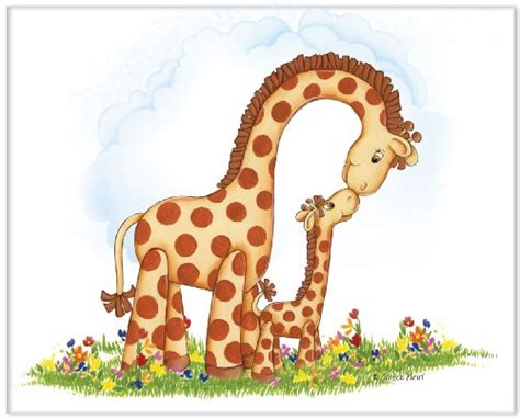 cartoon forest animals giraffe pattern baby girl clothes a giraffe baby room decor gifts and accessories