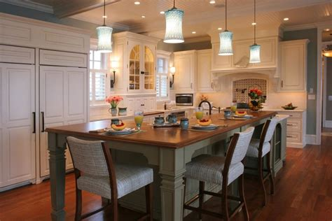 Kitchen Layouts With Islands Modern Kitchen Island Designs With Seating