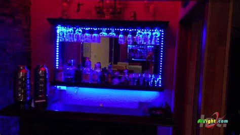 bar decoration led strip color chaging rgb kit youtube