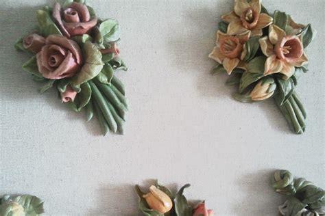 fiori pasta di sale quadro fiori di pasta di sale i pasticci di nico