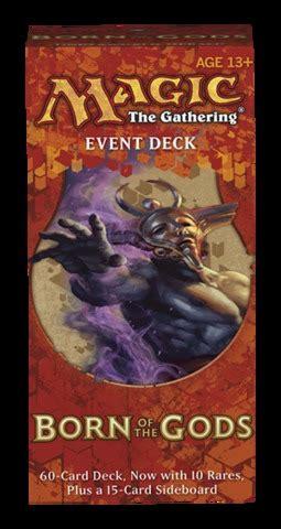 mtg event decks born of the gods event deck magic the gathering 187 magic