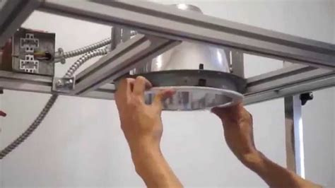how to install recessed lighting youtube how to retrofit commercial recessed lighting to led youtube
