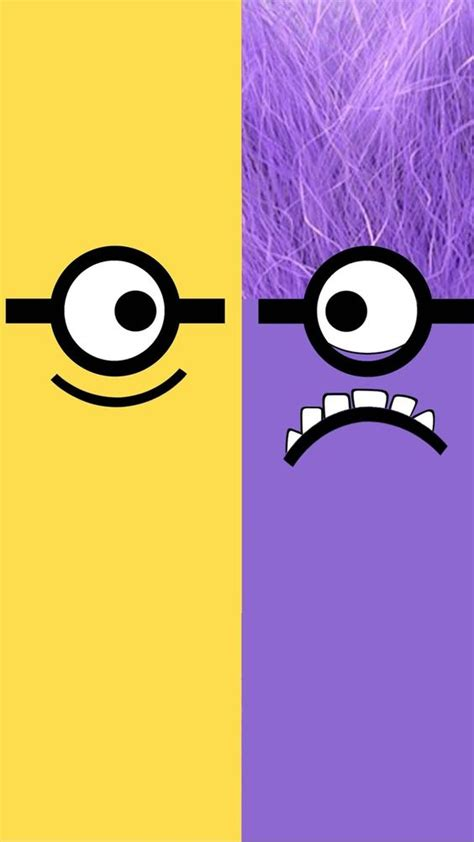 wallpaper for iphone minions despicable me yellow and purple minion iphone 6 plus