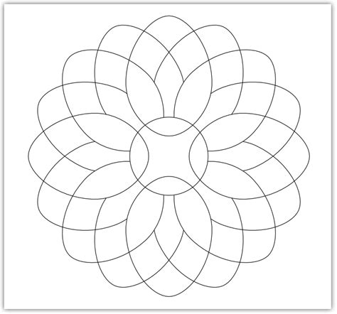 mosaic templates for imaginesque mosaic flower pattern