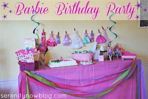 party decorations to make at home serenity now throw a barbie birthday party at home