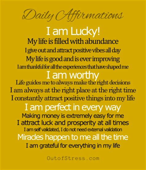 lucky to be a changing affirmations for positive classrooms books attract luck into your by changing your
