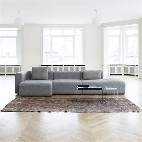 Wide Sectional Sofa Mags Sofa Modules Wide By Hay