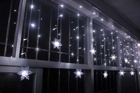 3 5m 100smd 16p snowflake led curtain string lights l