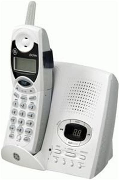 ge general electric 27995ge1 analog cordless phone 2 4 ghz