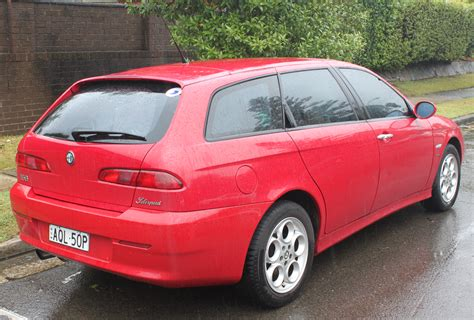 Alfa Romeo 156 by File 2004 Alfa Romeo 156 My04 Jts Selespeed Station