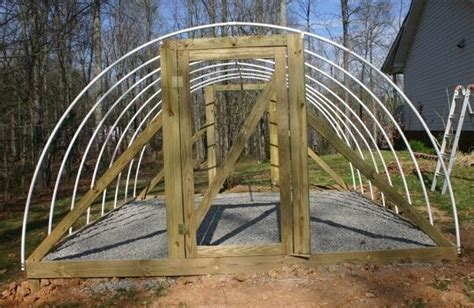 How to Build a Hoop style Greenhouse