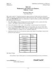 Business Mathematics Book For Mba by Mba 501 Math And Stat For Business Snhu Page 1 Course