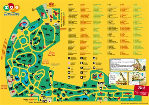 barcelona zoo map zoos del mundo antes y despu 233 s zool 242 gic de barcelona