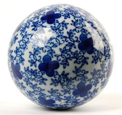 Decorative Sphere by Ceramic Sphere Decorative Orb Globe Home Gift 4 Quot G Ebay