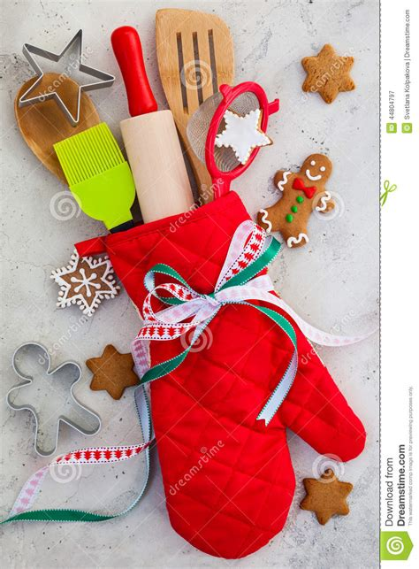 christmas gift wrapping idea stock image image 44804797