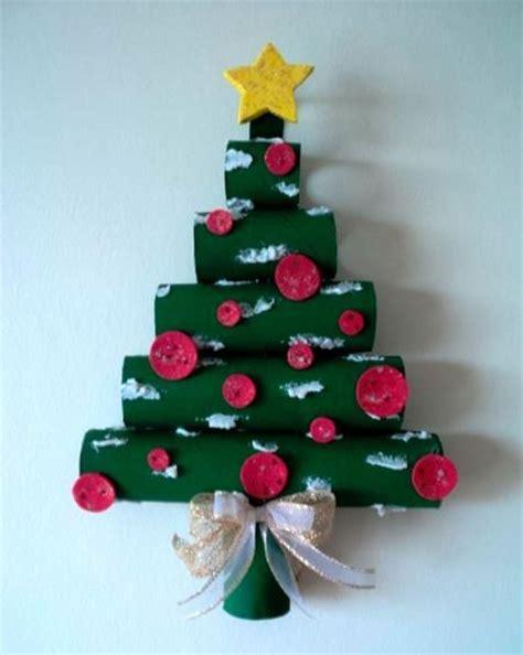 c 243 mo hacer 225 rbol de navidad de pared con tubos de cart 243 n
