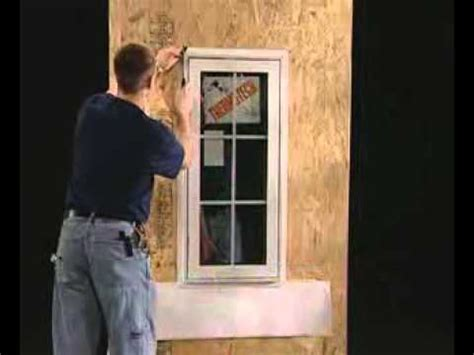 New Construction Window Installation Youtube