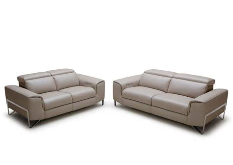 loveseat modern modern reclining sofa set vg881 leather sofas