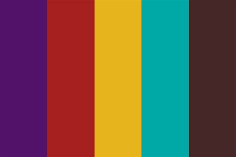 what color is happy happy retro 9 color palette