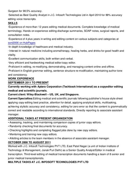 awesome collection of editor resume sample brilliant ideas