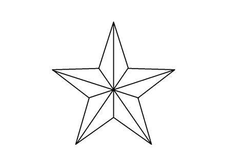 star shapes az coloring pages