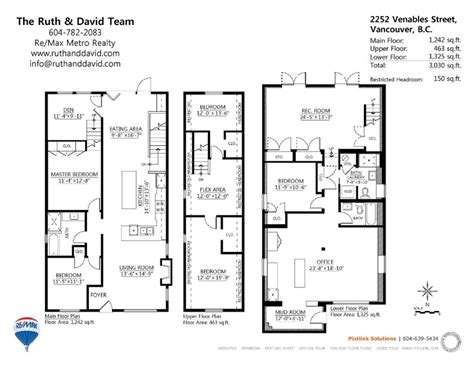 2252 venables street in vancouver floor plans house designs pinterest photos vancouver
