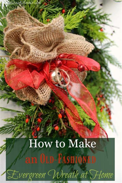 old fashioned wreath ideas fashioned wreaths