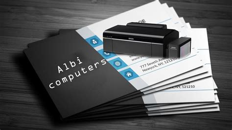 epson free business cards templates business card printer epson gallery card design and card