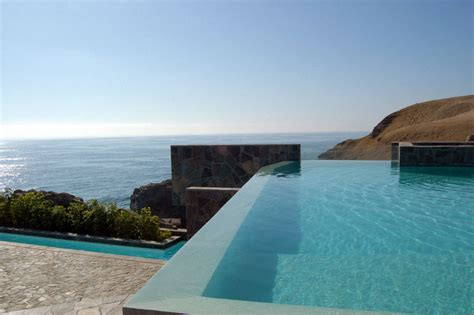home infinity pool infinity pool lefevre house peru by longhi architects