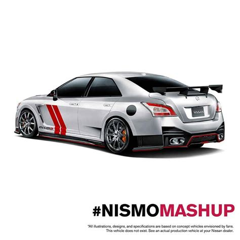 nismo nissan maxima nissan shows what would nismo make of the maxima and