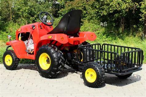 Modell Motorrad Mit Benzinmotor by Kinderauto Kindertraktor Kindertrecker Mit Anh 228 Nger