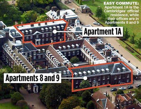 Apartment 1a Kensington Palace | about william and kate william kate and harry take over