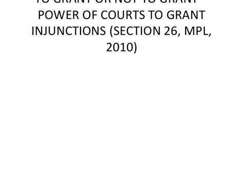 section 330 grant role of courts under the mortgage and property