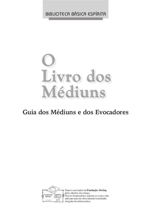 O livro-dos-mediuns - book pdf
