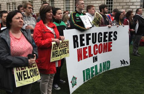 irish refugee council in dublin world refugee day open up safe and legal access to
