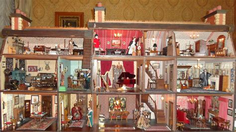 dream doll house my dream dollhouse quot english hunting lodge quot artist bonnie broel