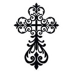 girly tattoo cross designs clip art library