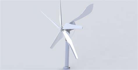 solidworks tutorial wind turbine wind turbine solidworks 3d cad model grabcad