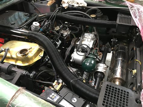 maserati merak engine running up the maserati merak engine for the