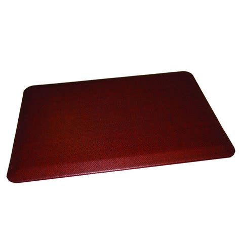 Anti Fatigue Mats Home Depot by Rhino Anti Fatigue Mats Comfort Craft Reed Berry 24 In X