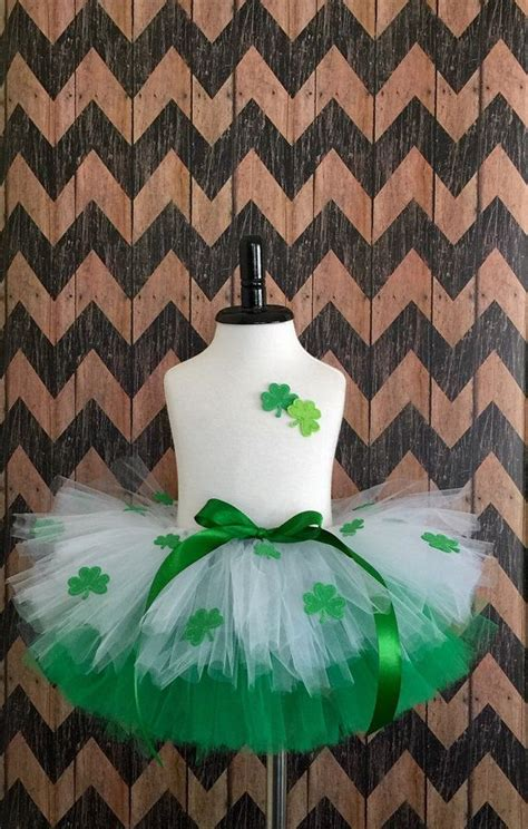 St Tutu reserved for megan st patricks day tutu and matching