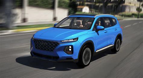 2019 Hyundai Santa by Hyundai Santa Fe 2019 Add On Gta5 Mods