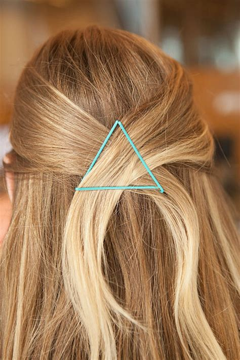 One Bobby Pin Hairstyle by Bobby Pin Hacks Bobby Pin Hairstyles For Busy Morning